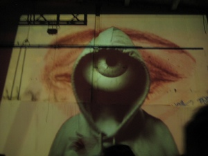 hooded eyeball