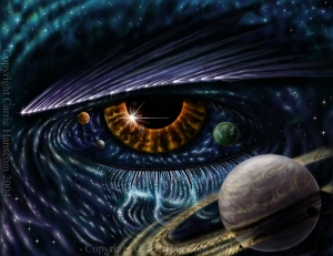 eye of space and time