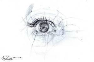 eye sketch # 102