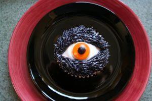 blue bowl of eye