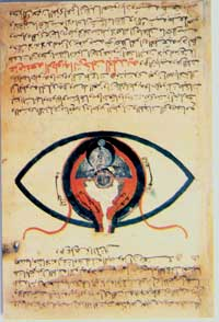 egyptian eye manuscript