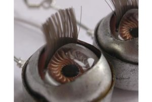 plastic doll eyeballs # 2