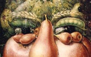 Arcimboldo's fruit & vegetable eyes