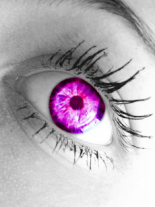 beautiful pink eye