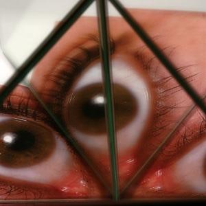 mirrored eye