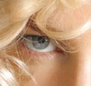 Nicole Kidman right eye