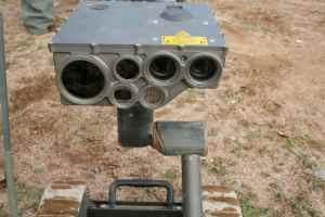 military machine eyes