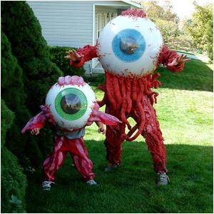 eye ball costumes