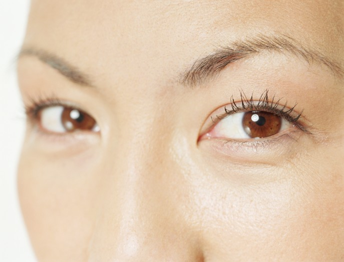 her chinese eyes