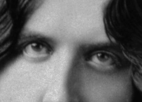 Oscar Wilde's eyes