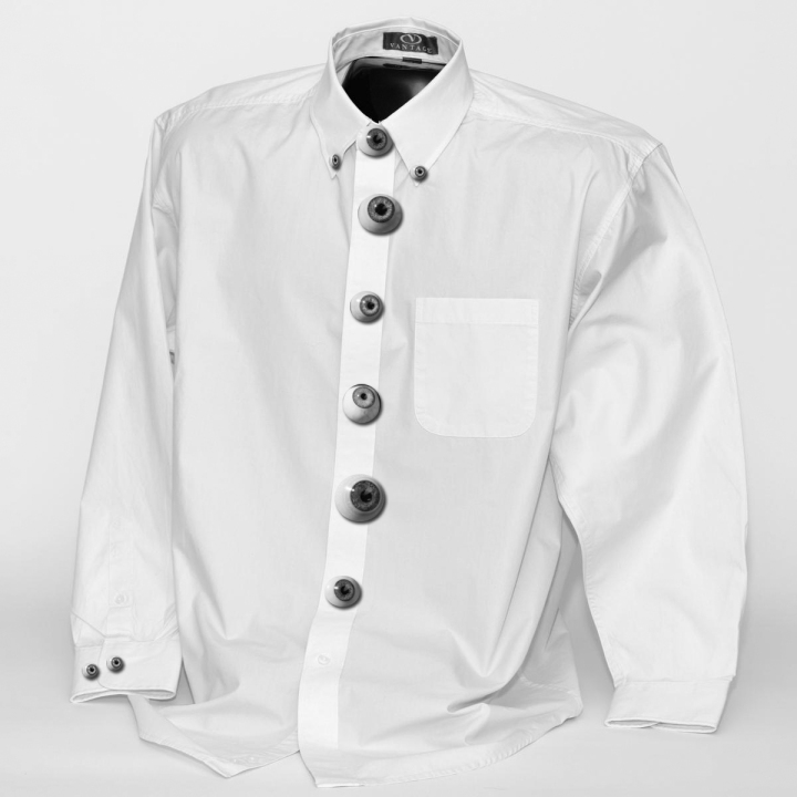 eye button shirt