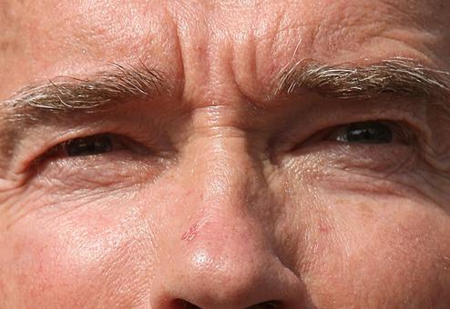 I O U EYE by Gov Schwarzeneger