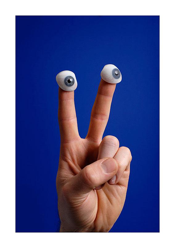 fingertip eyes