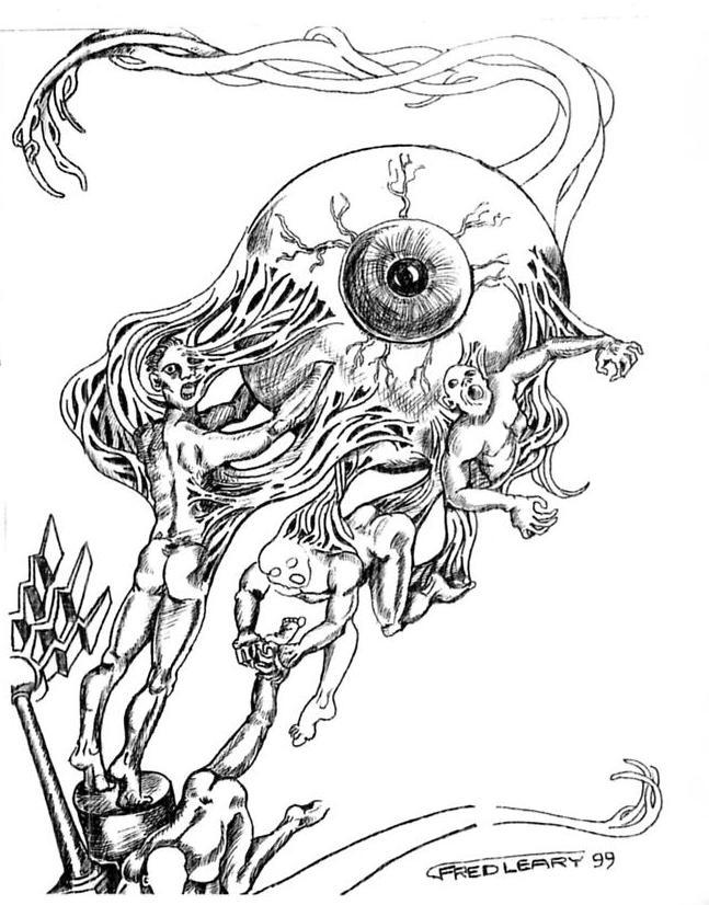 eyeball drawing  #29