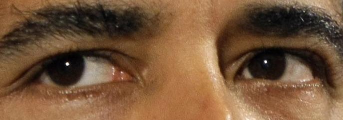 presidential eyes