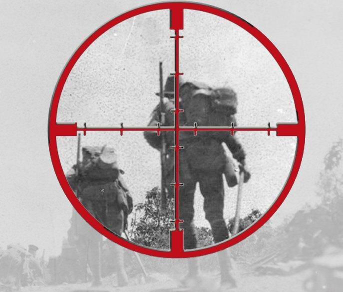 turkish gunsight view