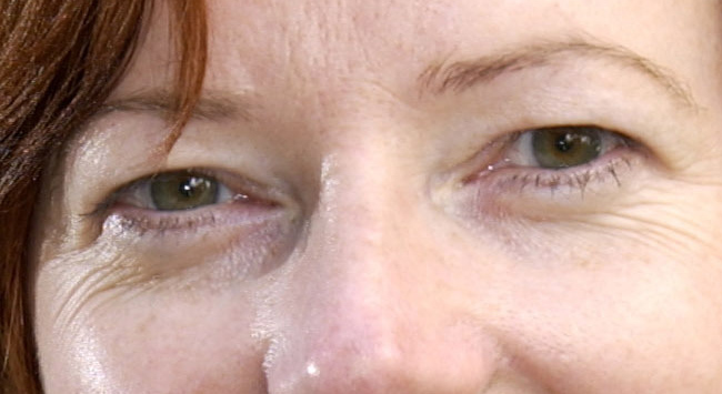 Julia Gillards eyes
