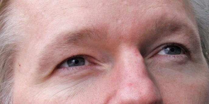 wikileaks founder eyes