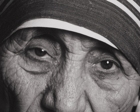 eyes of Mother-Teresa