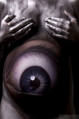 Bodypainted Eye
