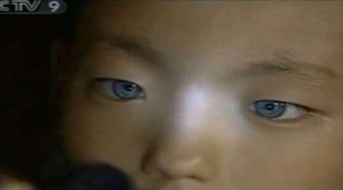 Chinese Star-child's Cat Eyes